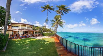 Photo for Palm Tree Estate~Oceanfront~Gated~ Exclusive~Kahala Avenue~7 bd Estate