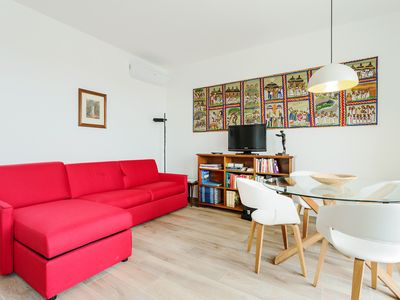 Photo for Amazing flat with big terrace and private car park