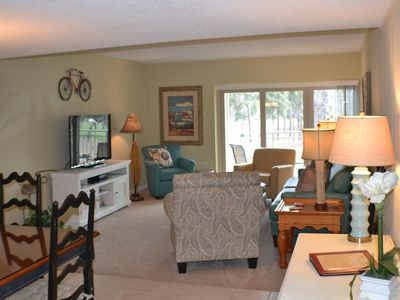 Photo for Newly renovated ! Premier Comfort Villa!!  Golf Views and easy access to beach.