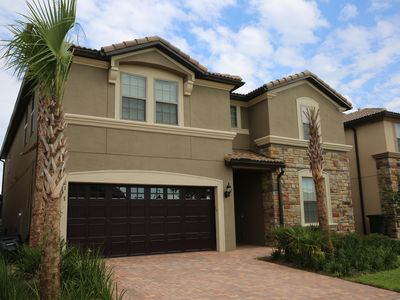 Photo for Luxury 9Bd/6Ba Villa Minutes to Disney Pool/Spa BBQ Game Room