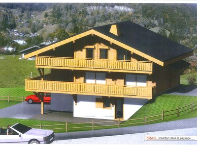 Photo for Detached chalet Chalet megève / praz-sur-arly, slopes