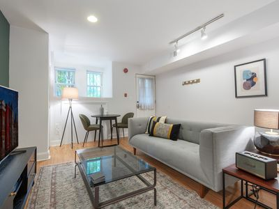 Photo for Crisp Dupont Circle 1BR w/ W/D 2 blocks to Whole Foods,  by Blueground