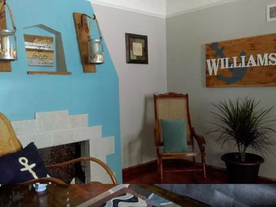 Photo for Relaxing Oasis with Coastal Decor in Midtown