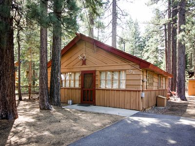 Photo for Warm, family-friendly mountain cabin with large yard, near trails & skiing!