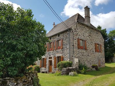 Photo for Large holiday home in Cantal, in the heart of the Auvergne volcano park