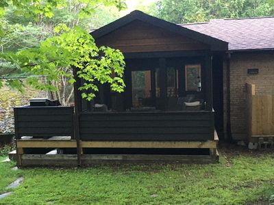 Gryffin Ridge- The Magic Forest, Huntsville!  Sleeps 2 adults and 1 child