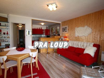 Photo for Comfortable apartment of 52 m2 in Pra Loup 1500 to 200 m from the gondola