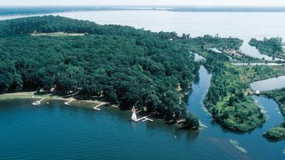 Photo for Ideal Location on Level, Sandy Shore on Beautiful Gull Lake in Brainerd Lakes