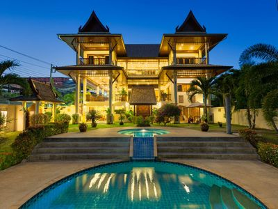 Photo for Chalong Bay SEAVIEW, Superb garden, Pool Villa, 8B
