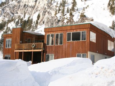 Photo for The Perfect House for a Holiday Gathering Perched Between Alta And Snowbird