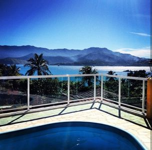 Photo for Paradise overlooking the sea. The most beautiful view of the island!