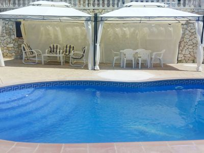 Photo for Nice apartment for 8 guests with private pool, WIFI, TV and parking