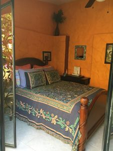 Photo for Bohemian Garden retreat located in a majestic old traditional Mexican Hacienda