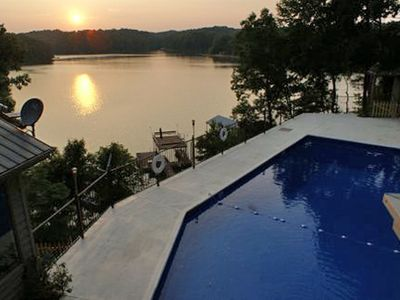 Photo for Sunset Summit - 5 Bdrm / 4.5 Bath Home W/ Amazing Lake Lanier Views & Amenities