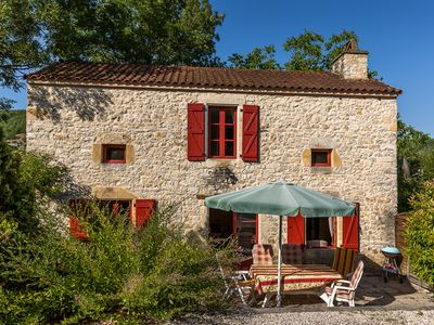 Photo for 3 luxury holiday homes with swimming pool on a small estate in Dordogne / Lot