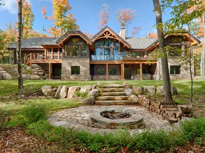 Photo for 5 Bdr luxorious villa with private hot tub, billiards and fire pit. Sleeps 14