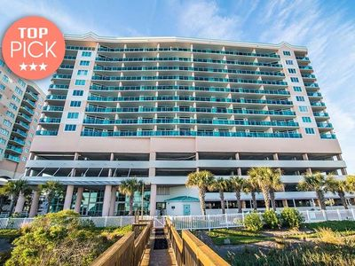 Photo for Crescent Keyes PH 07, 3 Bedroom Beachfront Condo, Hot Tub and Free Wi-Fi!