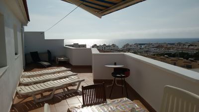Photo for Penthouse beachfront, private solarium terrace, Jacuzzi, Exceptional Sea View