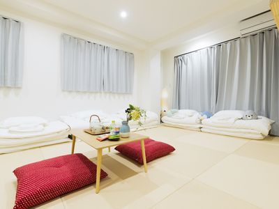 Photo for YUYU STAY- HIGOBASHI 21db, a 5-minute walk from subway station, 5 minutes directly from Namba Shinsaibashi, and a luxury apartment with an elevator