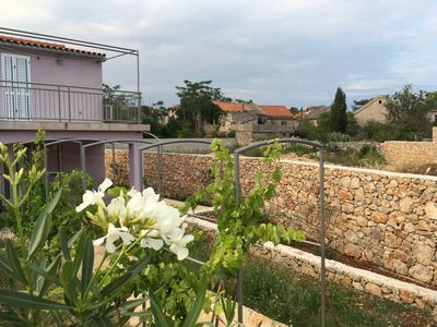 Photo for Charming house with 2 bedrooms in an old village on the island of Hvar
