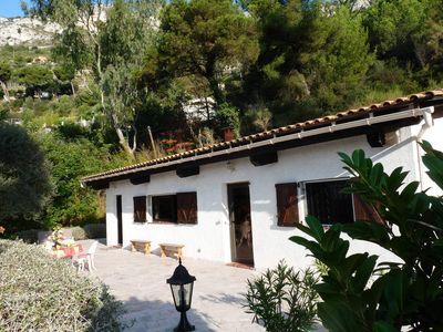 Photo for SMALL DETACHED HOLIDAY HOUSE WITH PANORAMIC VIEWS - La Petite Maison d'Èze