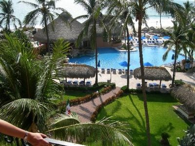 Photo for Beautiful Beach front tropical resort, Pent house, 4 bed rooms, 4 and half bath,