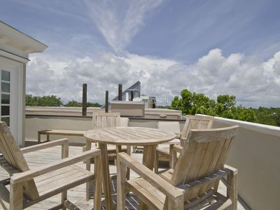 Photo for GORGEOUS 3BR SEASIDE in Ruskin Park, 3 floors of porches & views