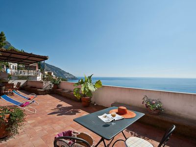 Photo for 3BR Apartment Vacation Rental in Positano Centre