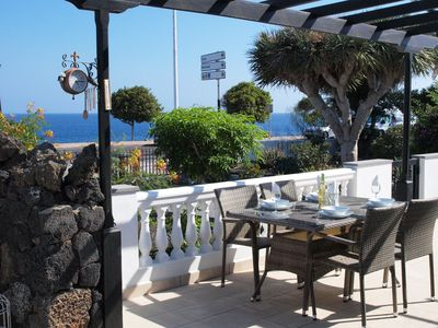 Photo for Beautiful Ocean View 2 Bedroom Villa with Wifi, UK TV and heated community pool