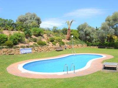 Photo for Duplex in Lloret center with Pool, Large terrace with hammocks, BBQ and Wifi