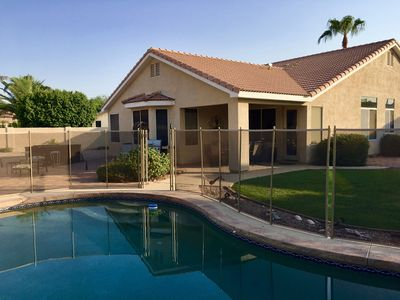 Photo for PERFECT FOR EVERYONE! Heated Pool, Hot Tub, Large South Backyard, NEW Pool Fence
