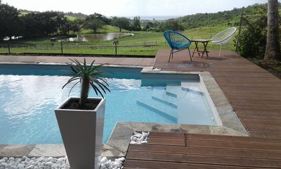 Photo for VILLA WITH SWIMMING POOL SEA AND COUNTRYSIDE NEAR ST LUCE - 6/7 people