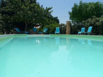 Photo for Stone Apartment in Masseria with pool
