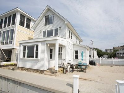 Photo for Beach front property steps from Long Island Sound!