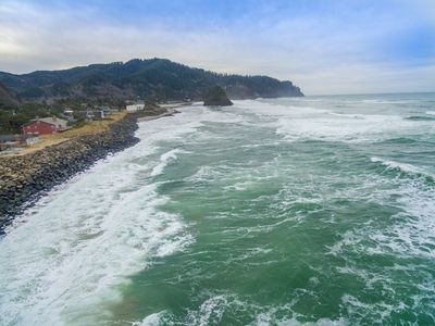 Photo for Pacific Sands Resort  #18 – Truly on the beach at this very oceanfront condo!