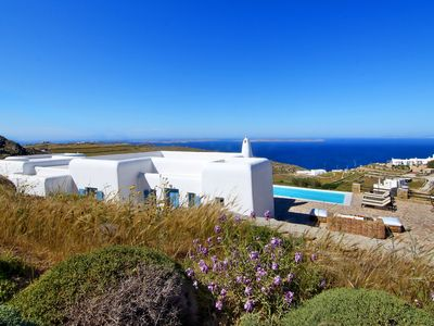 Photo for VILLA KATRINA Mykonos 3 bedrooms 4 bathrooms private pool up to 6 guests !