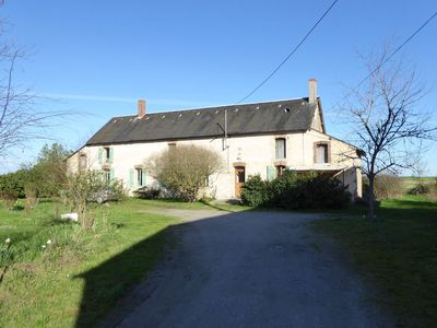 Photo for Cottage in an old remote farmhouse near Châteauroux
