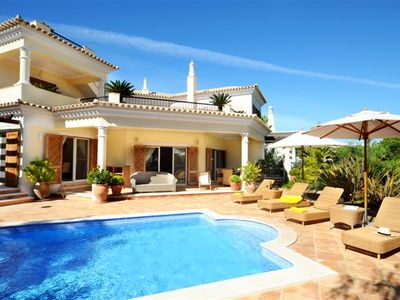 Photo for LUXURY DUNAS DOURADAS VILLA WITH POOL CLOSE TO BEACH F254