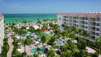Photo for Aruba Ocean Club 1B/1B Ocean Front - Only July 20-27 2019 RELAX on Palm beach!