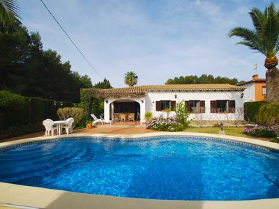 Photo for Close to the beach house with private pool in a quiet cul de sac