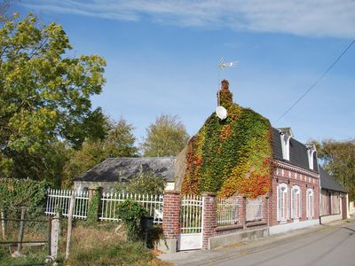 Photo for Baie de Somme. House Picarde 1900 renovated comfort nature 30 minutes from the sea