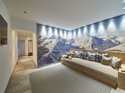 Photo for Fuchs 4 - comfort apartment with sauna and chill-out area with home cinema
