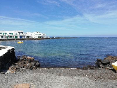 """Photo for Apartment """"Mirador del Roque 2"""" On the Seaside with Patio, Ocean View & Wi-Fi"""
