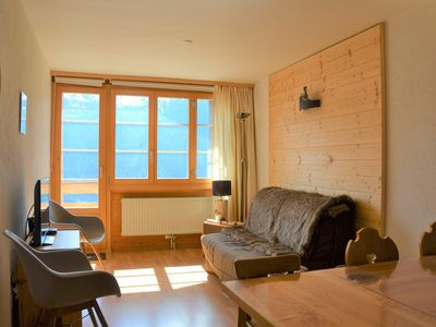 Photo for Outside : flat for 4 person on the 2nd floor, balcony -Inside : 45 sqm, living room with dining area