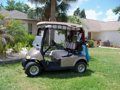 Photo for Bob's 3/2 house in The Villages. Golf cart included. Nature Preserve in back