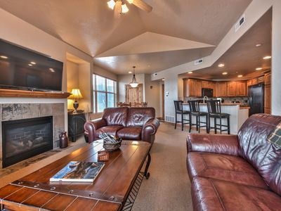 Photo for 3 Bedroom Condo, Sleeps 8, in the Heart of Redstone / Newpark, 3 Miles to the Canyons Village