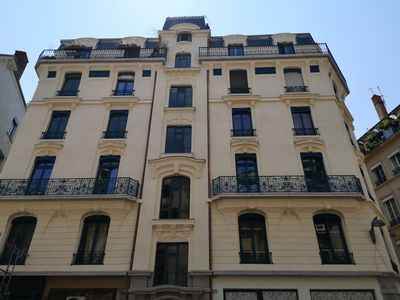 Photo for Beautiful Haussmanian apartment on the peninsula of Lyon