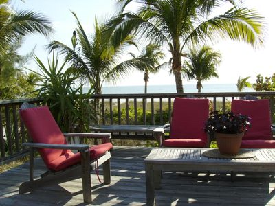 Photo for Pinkhouse Beach Front Rental