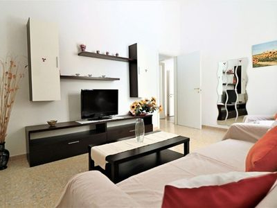 Photo for Spacious Casarano apartment in Casarano with WiFi, air conditioning, private terrace & balcony.