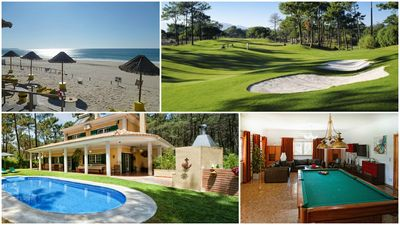 Photo for Luxurious villa on a golf course, swimming pool, near beautiful beaches (Lisbon-Portugal)